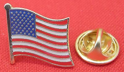 10 PCS x USA America Country Flag Lapel Hat Cap Tie Pin Badge Stars & Stripes