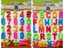 Fridge Magnets Magnetic Numbers Magnetic Letters A-Z Learn Maths