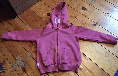 Next Girls Pink Hoodie Top Size 4 Years