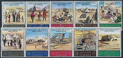 Jordania stamp  Refugee fate and tragedy in the Holy Land 1969 MNH WS219538