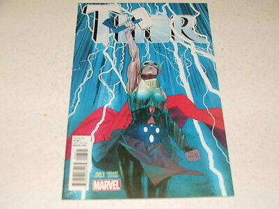 Thor 3 JAMES HARREN 1:25 VARIANT (Marvel Comics) Feb 2015