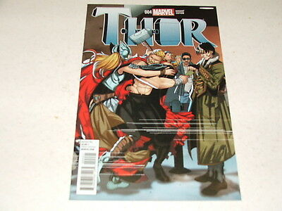 Thor 4 SALVADOR LARROCA WELCOME HOME 1:25 VARIANT (Marvel Comics) Mar 2015