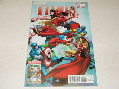 Thor 7 PASQUAL FERRY AVENGERS 1:15 VARIANT (Marvel Comics) Jun 2015