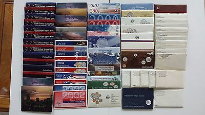 Complete 1964 - 2016 U.s. Mint Set Collection In Original U.s.mint Packaging