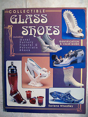 GLASS SHOES Metal Pottery PRICE GUIDE COLLECTOR'S BOOK