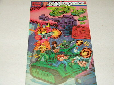 Transformers Vs GI Joe 3 RETAILER INCENTIVE 1:10 VARIANT (IDW Comics) Sep 2014
