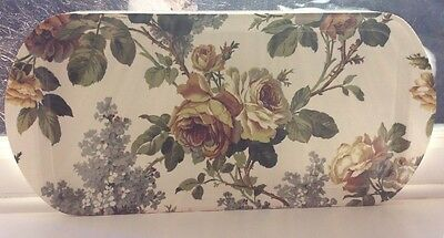 STUNNING Vintage Collectable TRADITIONAL 'THETFORD' RETRO FLORAL TRAY