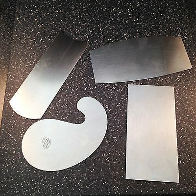 High quality cabinet / luthiers scraper set 4 piece