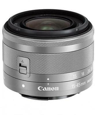 Canon EF-M 15-45mm 1:3,5-6,3 IS STM silber