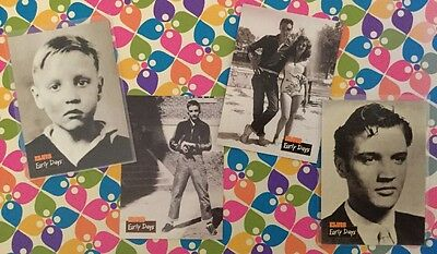 Lot of 4 Trading Cards - The Elvis Collection - Elvis Early Days #s 4 6 15 & 22