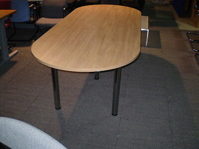 2.4 m Boardroom Table,Conference Table,Meeting Table,oak Finish
