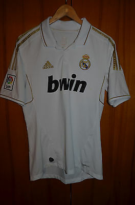 Size M Real Madrid Spain 2011/2012 Home Football Shirt Jersey Camiseta Adidas