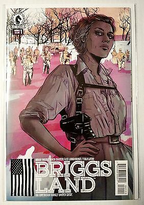 Briggs Land #1 (2016) NM Wood Chater 1st print