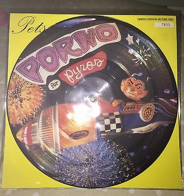 "Porno For Pyros Pets 12"" Picture disc vinyl LP 1993 jane's addiction Red hot"