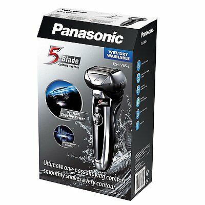 Panasonic ES-LV65 Arc5 Wet & Dry 5-Blade Men's Electric Shaver - RRP 259.99