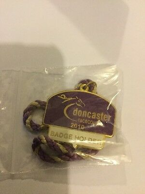 Doncaster Racecourse 2010 Members Horse racing Badge