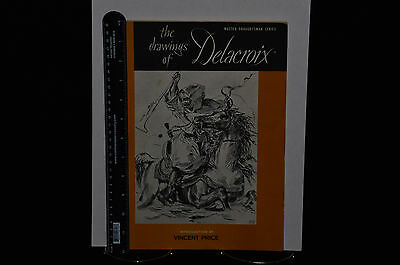 The Drawings Of Delacroix Art Book