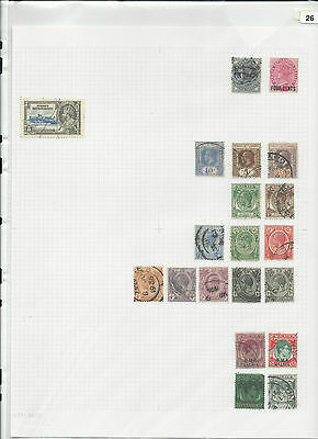 Trade Price Stamps Straits Settlements On Page