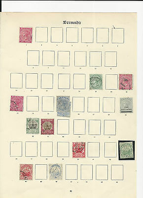 Trade Price Stamps  Bermuda Mint And Used
