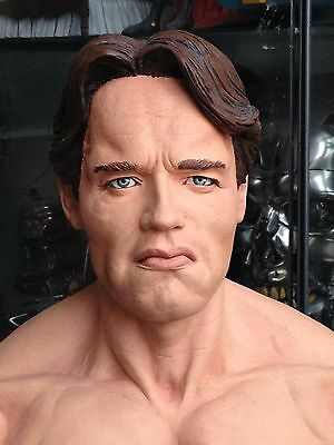 TERMINATOR 1 and GENISYS  BUST arnold schwarzenegger  ( home made )