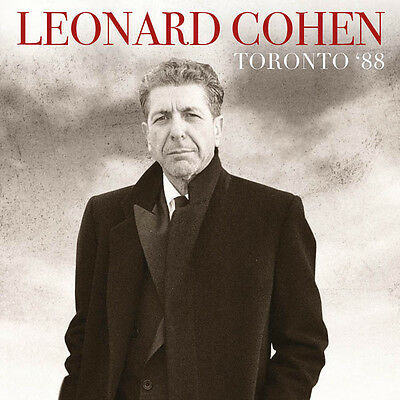 LEONARD COHEN - Toronto '88. New 2LP + sealed. **NEW**