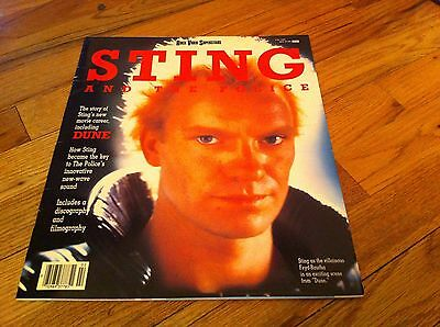 Rare Oversize Magazine Rock Video Superstars February 1985 STING The Police DUNE