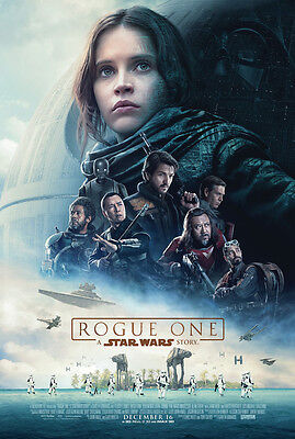 ROGUE ONE A STAR WARS STORY MOVIE POSTER 2 Sided ORIGINAL FINAL EXL 27x40