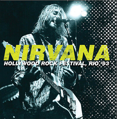 NIRVANA - Hollywood Rock Festival, Rio '93. New 2LP + Sealed. **NEW**