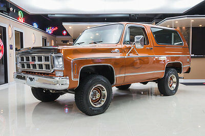 1977 GMC Jimmy  Frame Off Restored, 4x4! #s Matching 350ci V8, 700R4 Auto, A/C, PB, PS & More!
