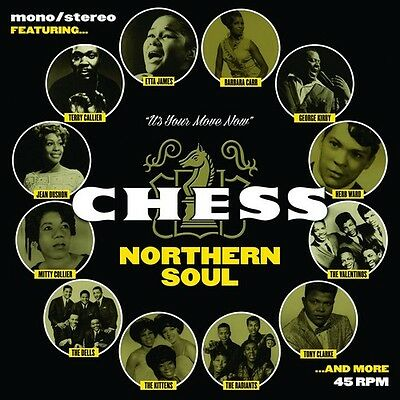 """THE CHESS NORTHERN SOUL 7s BOX SET NEW SEALED 7x 7"""" VINYL 45s LTD ED NUMBERED"""