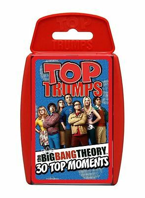Big Bang Theory Top Trumps Card Game - Brand New & Sealed