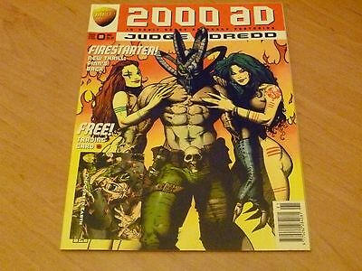 2000 AD Comic  Prog 991 , 10th May  ,  with free gift , Trading Card
