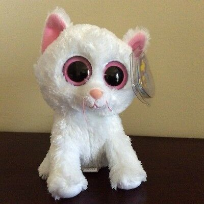 "Ty Beanie Boo CASHMERE the Cat 6"" MWMT"
