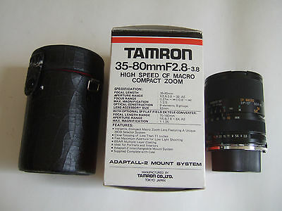 Tamron 35-80Mm F2.8 Nikon Mount Japan Boxed Low Price