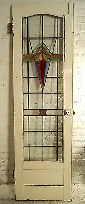 Vintage Art Deco Stained Glass Doors