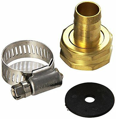 MINTCRAFT GB958F3L Female End Repair Brass Hose, 5/8 to 3/4-Inch
