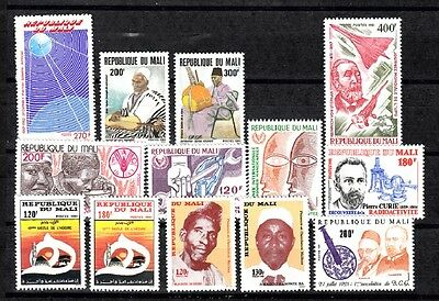 Mali Sc# Lot# 62316-D All Mnh