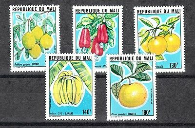 Mali Sc# 378-382 Fruits Mnh