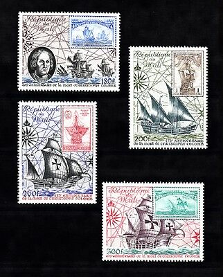 MALI SC# C426-C429 CHRISTOPHER COLUMBUS 475th. DEATH ANNIVERSARY - MNH
