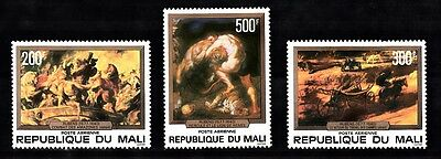 Mali Sc# C319-C321 Paintings By Rubens - Mnh