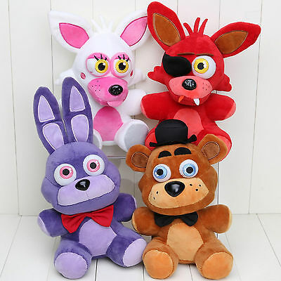 Five Nights at Freddy's 4 FNAF Horror Game Plush Dolls Kids Plushie Toys 7'' UK