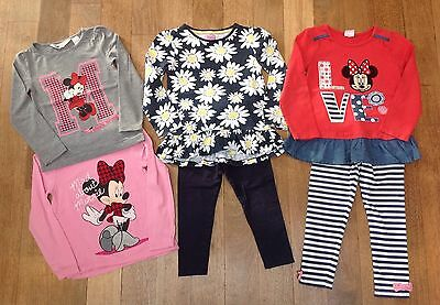 Mickey Mouse Tops x2, Mickey Mouse Outfit & Leggings Outfits. Age 2-3-4 Years.