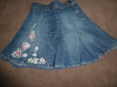 Girls Monsoon Skirt Excellent Condition Size 4-6 years