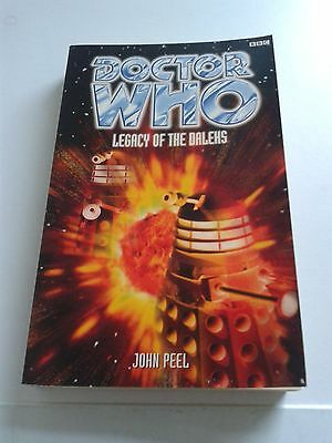 Doctor Who LEGACY OF THE DALEKS BBC Books Eighth Doctor