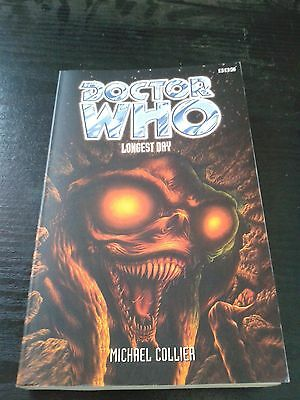 Doctor Who LONGEST DAY BBC Books Eighth Doctor