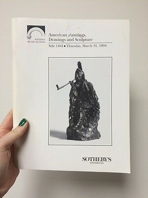 Sotheby's Auction Catalog American Paintings Drawings And Sculptures 1994