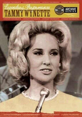 Legendary Performances: Tammy Wynette (2008, DVD NUEVO) (REGION 1)