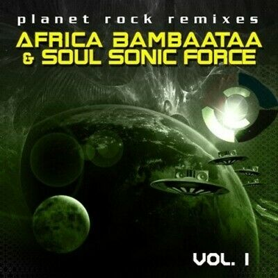 Vol. 1-Planet Rock Remixes - Afrika Bambaataa & The Soul S (2013, CD NUEVO) CD-R