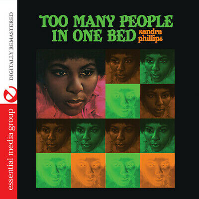 Too Many People In One Bed - Sandra Phillips (2014, CD NUOVO)