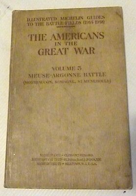 The Americans In The Great War, 1919 First Edition